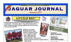 Jaguar Journal 1-2014